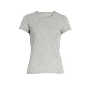NWT Vince Essential Crewneck Top Heather Gray - S